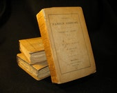Old Books -- Harper's Family Library Dramatic Series Massinger