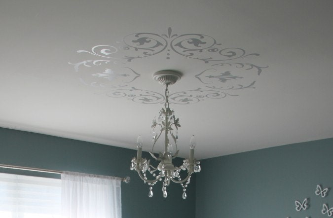 decorative wall ceiling vinyl decals 39 shabby chic 39