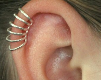 Six Wire Cartilage Ear Cuff