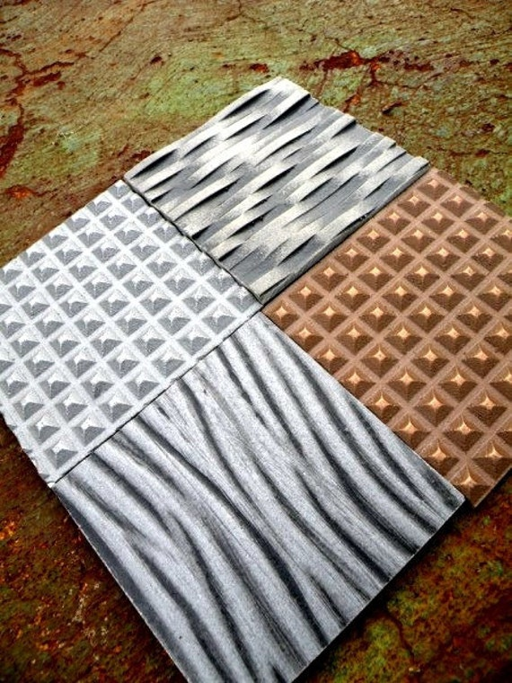 Stainless Steel Solid Metal Coasters Tiles Industrial / Architectural