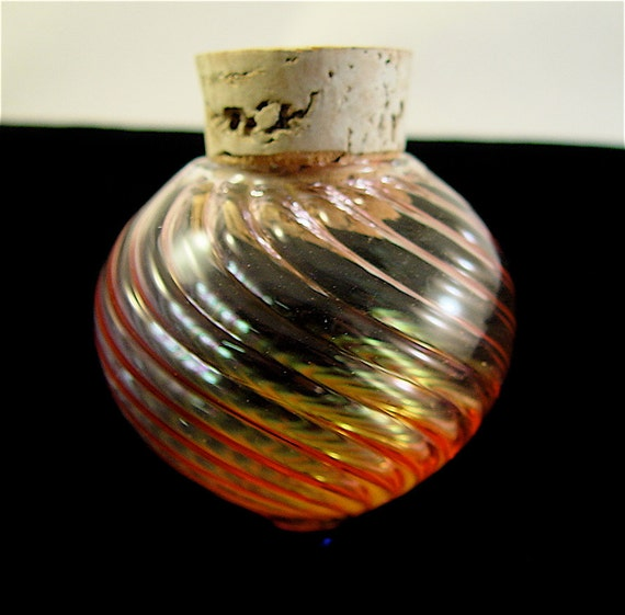 Custom order for Paul /Gold Fumed Extra Large Spin Jar //////Free Shipping in the U.S.//////
