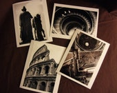 Blank Photo Card, Rome Italy, 4 pack