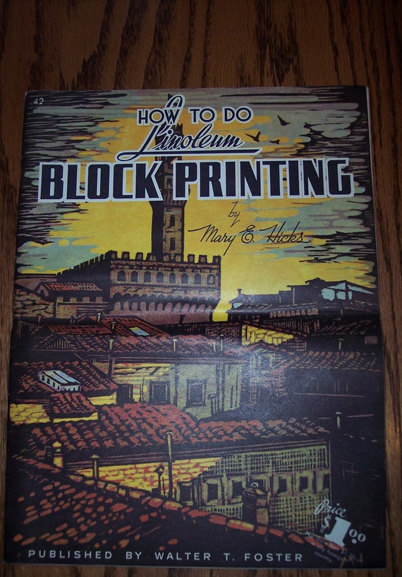 How to do Linloeum Block Printing