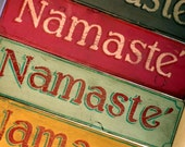 Happy Little Namaste Signs for All Free Shipping