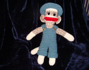 Country Boy Sock Monkey