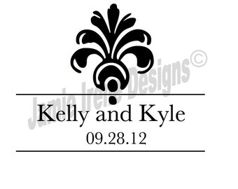Custom Designed Wedding Monogram or Logo