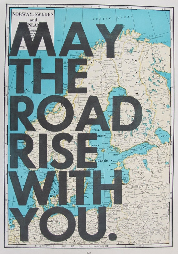 May The Road Rise With You /Norway Sweden Finland