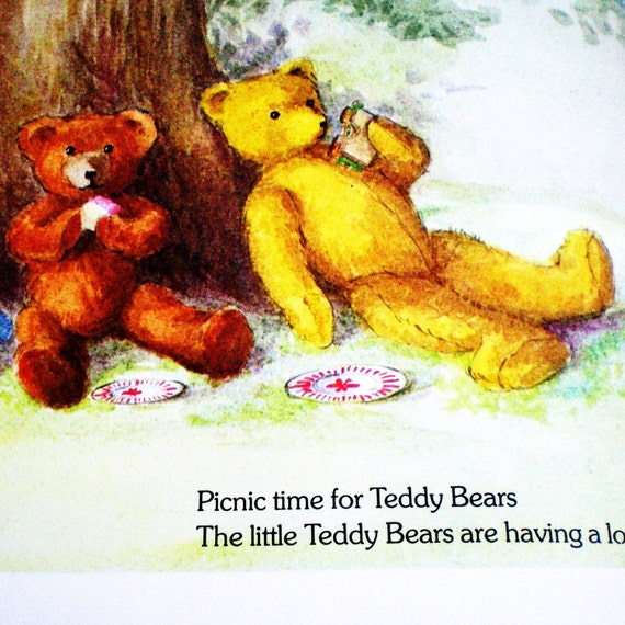 Teddy Bears Picnic - Vintage Childrens Book