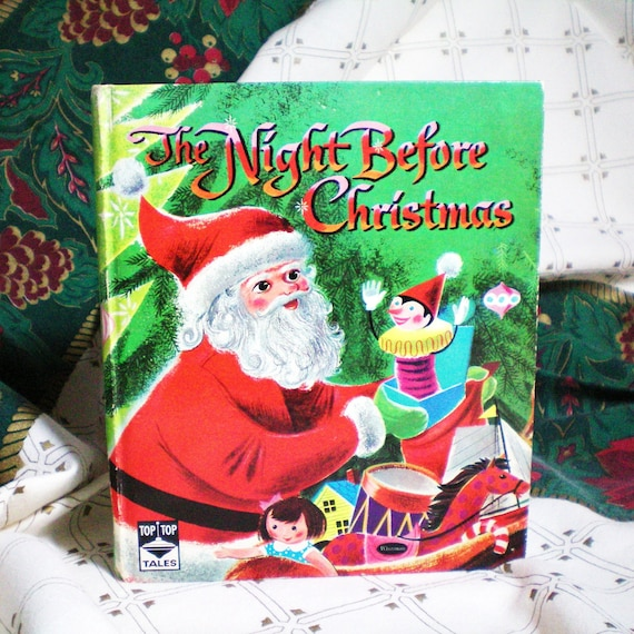 Vintage Book - The Night Before Christmas - 1955