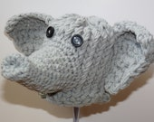 Elephant hat- For Newborn Jungle Animals lover