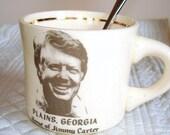 Vintage Jimmy Carter Souvenir Mug
