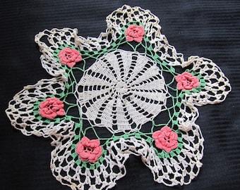 Pretty Vintage Handmade Doily