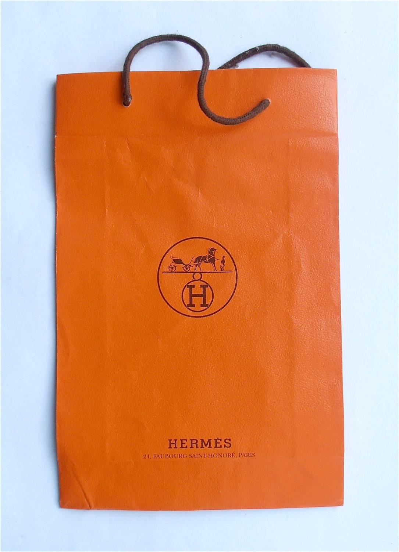 Vintage Hermes Bag Hermes Shopping Bag Vintage Designer Bag