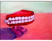 Oil Painting.  Teeth
