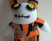 Halloween Zombie Sock Monster named Hal