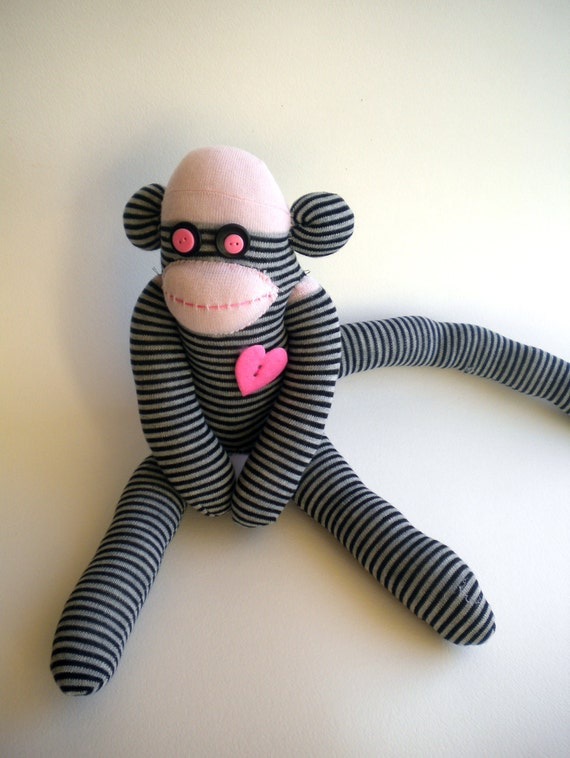 Sock Monkey Named Phillis