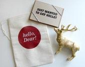 hello, Dear Card (Bag)