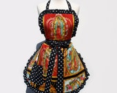 Guadalupe, Virgin Mary Mexican Art Apron FREE SHIPPING