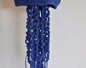 Hanging Jellyfish Made to Order Many Colors Available, Crochet Handmade Home Decor, Beach Nursery Baby Room Decoration