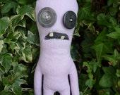 Elnora the Monster -  a plush Fuggler