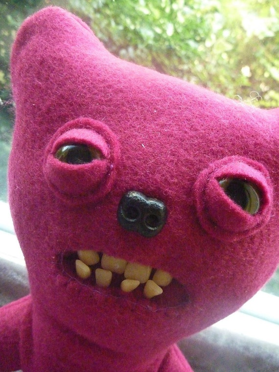 Not this Menacing Teddy Bear, but one like it - a plush Fuggler 25cm