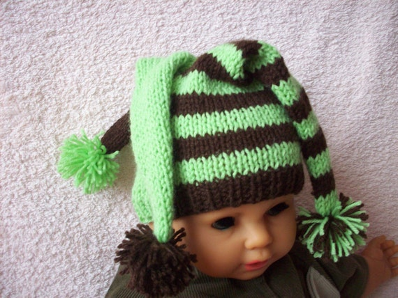 Jester newborn/ baby hat  Perfect baby shower gift or photography prop. newborn photo prop, newborn boy, newborn girl, newborn knit hats