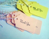 16 THANK YOU TAGS