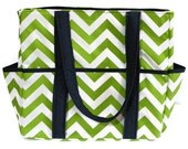 Extra Large Diaper Bag Tote Nappy Bag Green Navy Blue