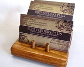 Business Card Holder Multi Level 3 Slot Card Holder