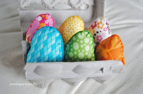Easter Egg Rattle Set