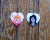 CUSTOM ORDER Adventure Time Earrings RESERVED for Raquel