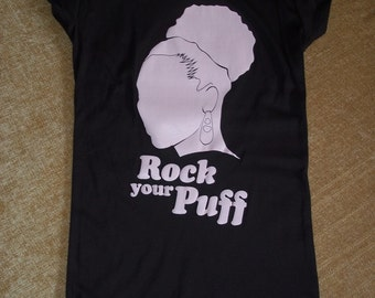 Rock Your Puff Natural Hair Shirt (Size 2XL)