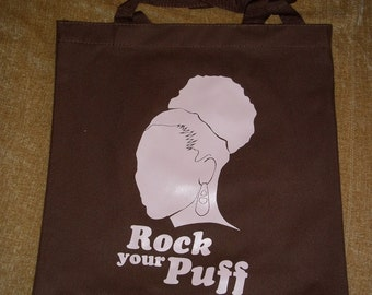 Rock Your Puff Tote Bag