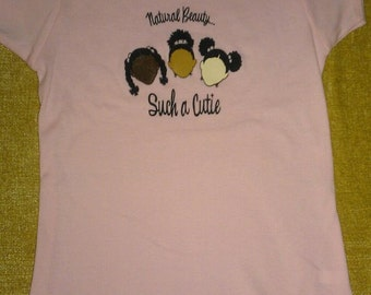 Natural Cutie Girls Shirts (Size LARGE 14/16)
