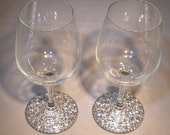 """Mosaic Wine Glasses """"AVAILABLE"""""""