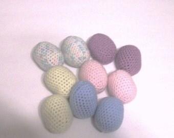 10 amigurumi easter egg
