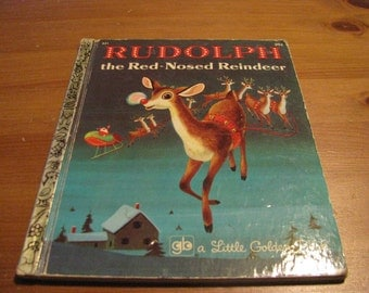 Vintage Rudolph, the Red-Nosed Reindeer Children's Book