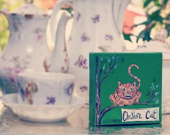 Cheshire Cat (mini canvas)