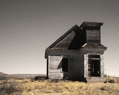 Abandoned Church - fine art photograph - old southwest country religious spiritual 16x24