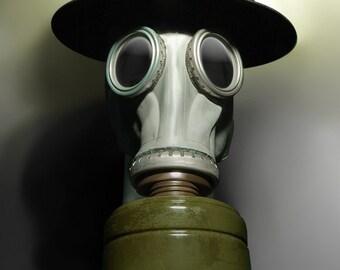 Gas Mask Fine Art Photograph - Tommy No.1 - apocalyptic ww1 ww2 british english helmet 16x24