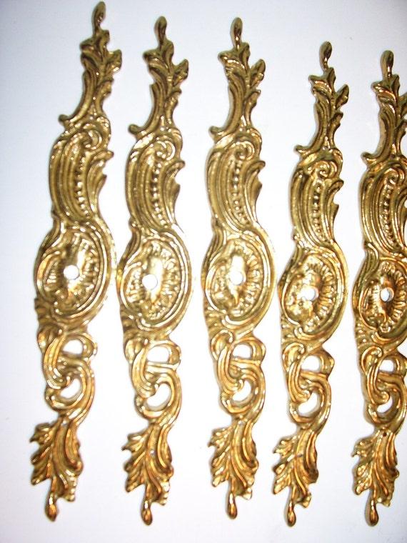 Brass Decorative Furniture Cabinet Applique