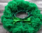 Emerald Green Pettiskirt / Tutu Photography Prop Newborn- 6 month Size Ready to ship