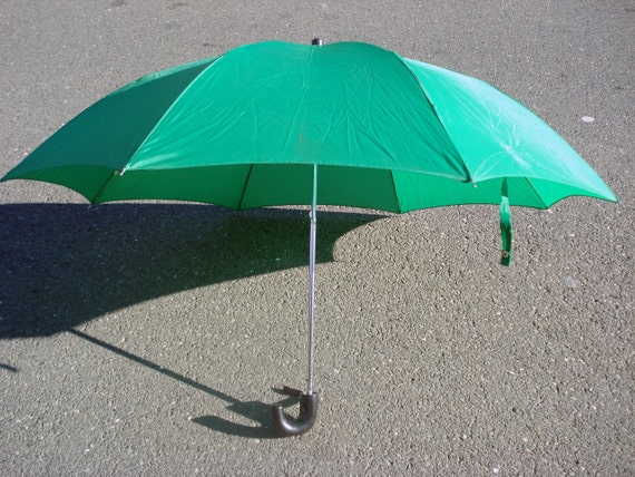 Vintage Green Umbrella