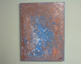 Healing Abstracts Painting 18x24 - Free Shipping USA