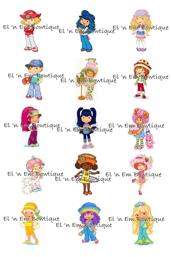 Items similar to Strawberry Shortcake & friends inspired 1 ...