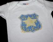 Police Badge 'Daddy Is My Hero' - Custom Made