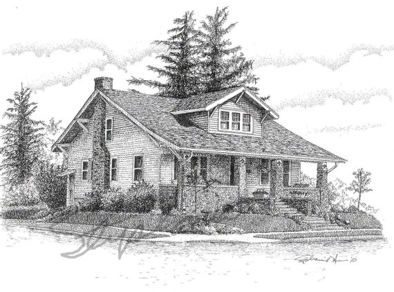 Custom Drawing of Your Home