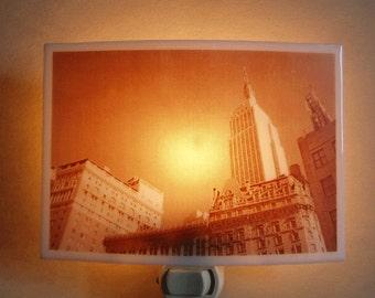 Empire State Building - New York city nightlight