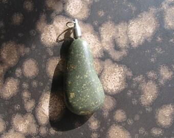 R54 Basalt Rock Pendant