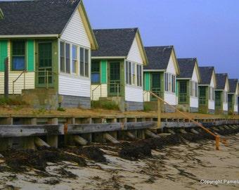 Days Cottages, Truro Provincetown, Massachusetts 8 x 10 Limited Edition Photograph, Cape Cod